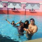 Nice pool of baiyoke sky hotel ikram baig