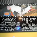 Signage of the cheese  1