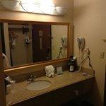 Room 304, nice large vanity!