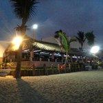 vista del restaurant desde la playa