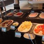 Breakfast fruit selections