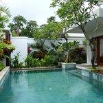 Villa Pool daytime