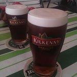 Kilkenny on draught. Pretty nice.