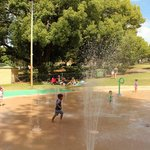 the water playground @ Hyde park