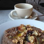 Breakfast at Reynard @ Wythe - Teff with figs honey & walnuts
