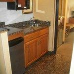 Drury Inn & Suites Hotel Room Kitchenette