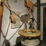 Ancient sea rescue equipment