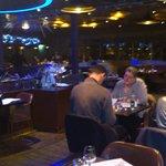Salle du restaurant de la tour Eiffel sauf clients France Tourisme !!!