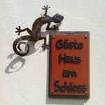 Gästehaus am Schloss (Eingang)
