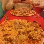 Pizza Da Enrico(la más cercana) y  Prosciutto e fungli