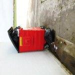 The bin outside Round House yard
