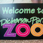 Dickerson Park Zoo Sign