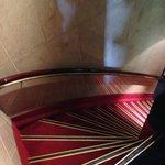 Treppen (extrem steil!)