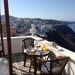 Private hotel terrace