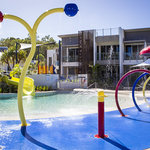 Water splash park
