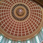 Inside of capitol dome