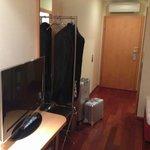 Eingangsbereich mit TV