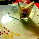 Bicchiere di parmigiana
