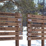 Hiking/skiing routes