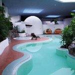 Zwembad met sauna