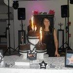gâteau thème cinéma : BEAU et EXCELLENT !