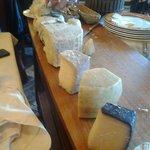 La sezione di formaggi.......a voi i commenti!