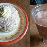 School bread and Chocolate mousse