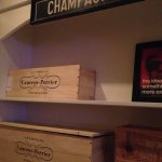 Champagne closet