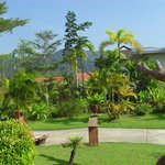Lovely tropical gardens at the Phu Kamala