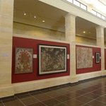 exhibition of wayang paintings and Ketut Madra's paintings