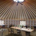 yurt - interieur