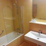 Renovated room - bathroom