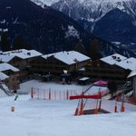 view from ski piste