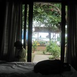 View from Beachfront Bungalow