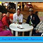 Luccy's Cafe & Grill in Salinas, Ecuador