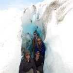 gletsjerkloof / grot
