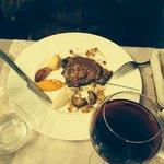 Ciboulette : foie de veau et ses petits légumes