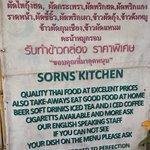 Sorn's Kitchen Pledge