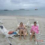 en la playa de Praias Brancas