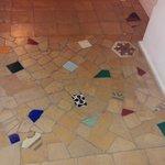 Mosaico di ceramiche