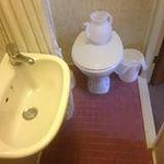 The en suite, what the hell is the teapot for