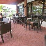al fresco dining area