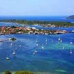 Bocas del Toro showing marina