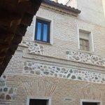 Vue de la chambre sur la cour, Hotel Pintor El Greco, Tolède