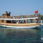 bateau de la mini croisière