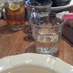 Apple Chestnut soup, Villeroi Mussels