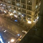 Looking down at Macy's from 12th floor