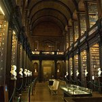 The stunning library at Trinity College