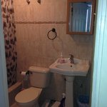 Bathroom inside room
