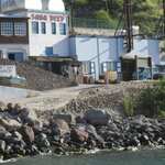 Saba Deep from the harbor